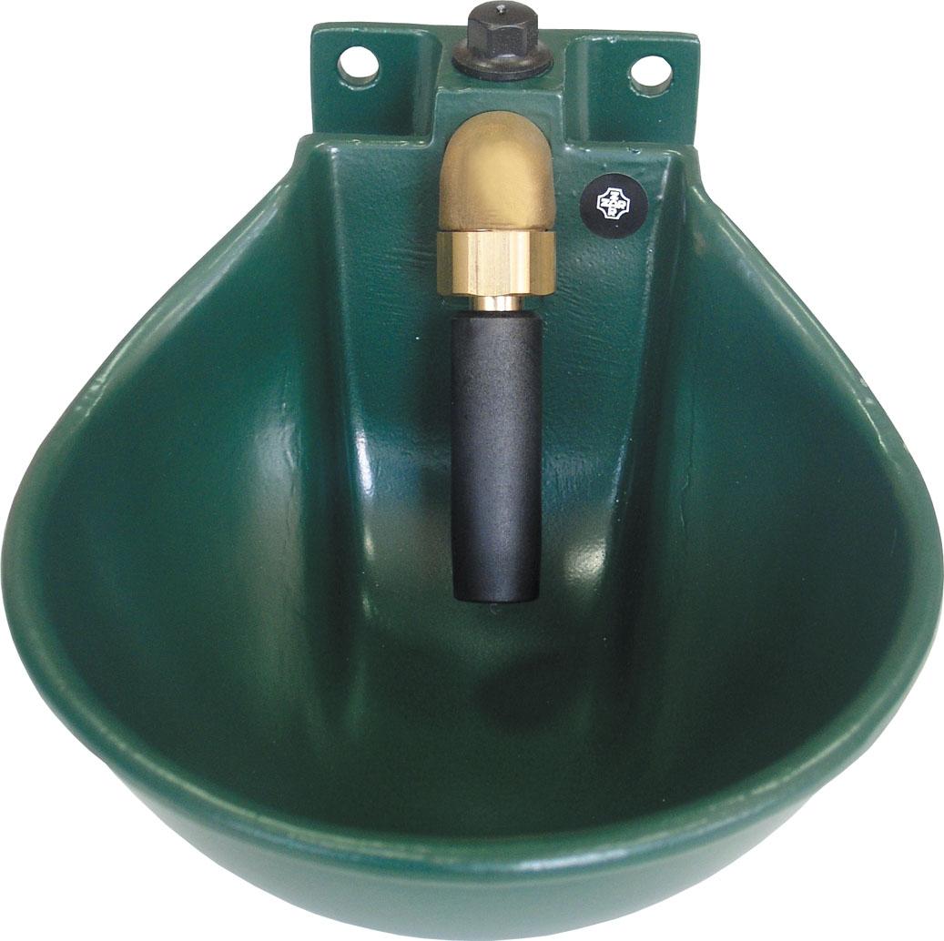 CAZOLETA MOD. B-4 VERDE BOVINO-EQUINO (sin abrasadera)