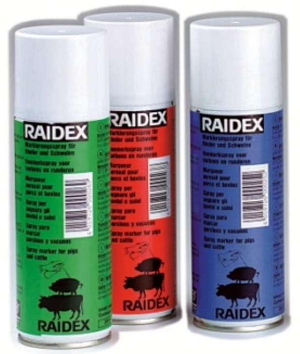 SPRAY MARCADOR DE GANADO RAIDEX